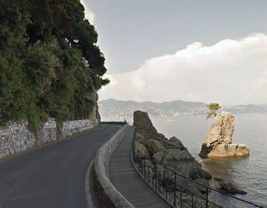 Strada di Portofino, senso unico alternato sino al 22 aprile