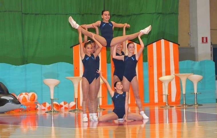Aerobica Entella, la ginnastica che sogna il grande salto