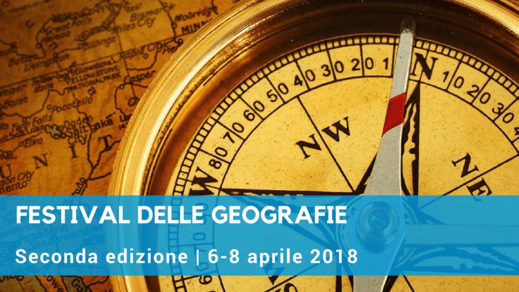 Festival delle Geografie, tre giorni di eventi