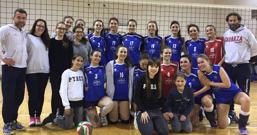 VBC Casarza, le pallavoliste promosse in Serie D