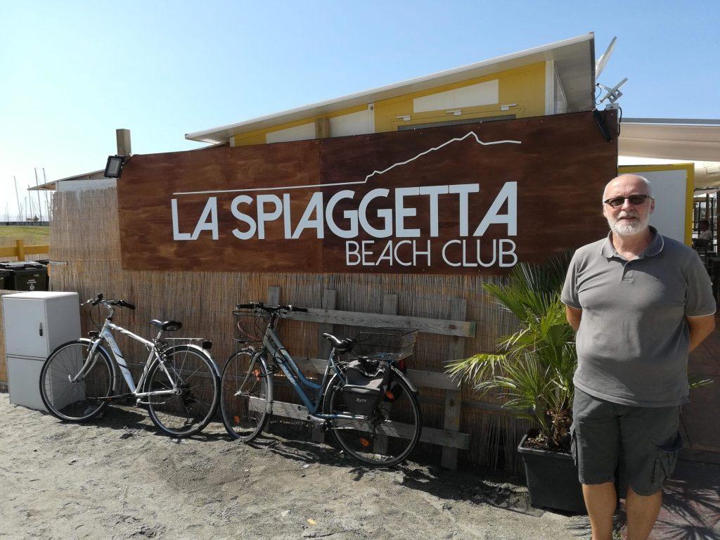 La Spiaggetta Beach Club vede uno splendido orizzonte