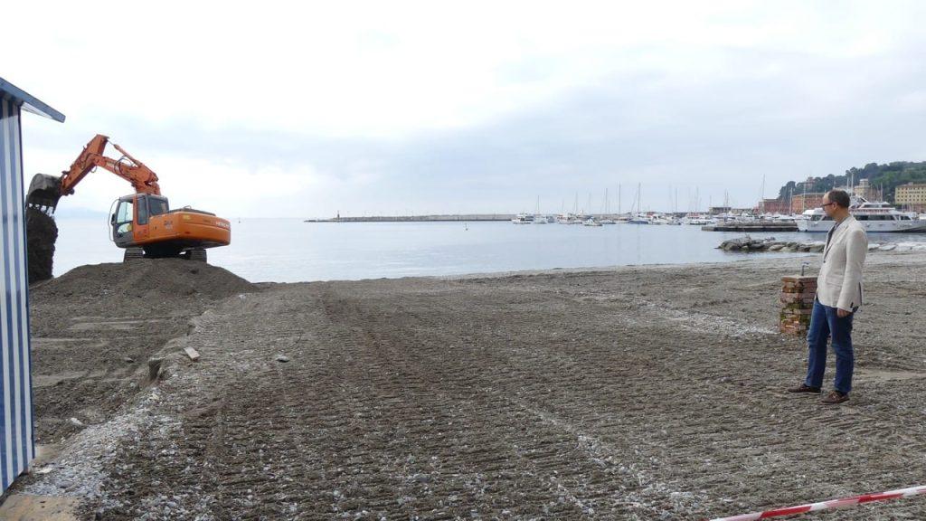 Santa, pulito il San Siro ed eseguito il ripascimento sulle spiagge