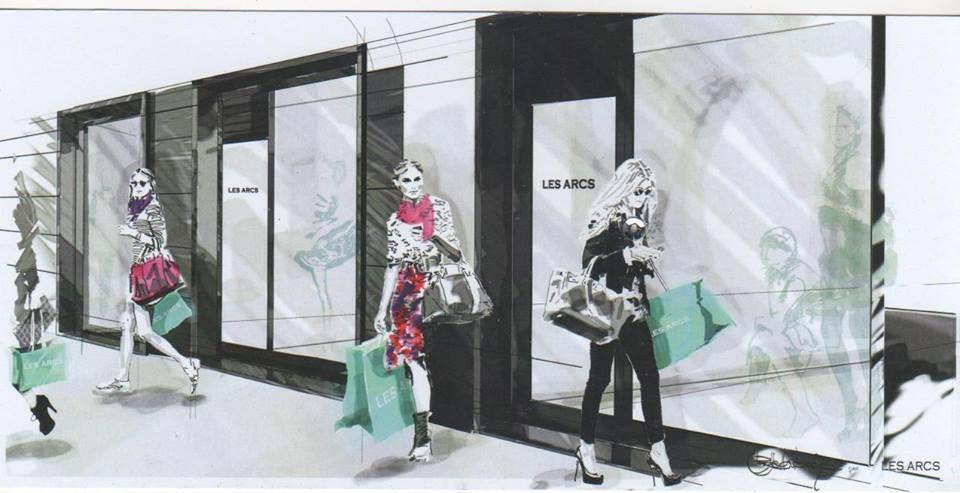 Les Arcs, le signore dell'abbigliamento
