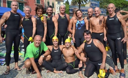 A Rapallo ecco la sfida dei 'coccodrilli del mare'
