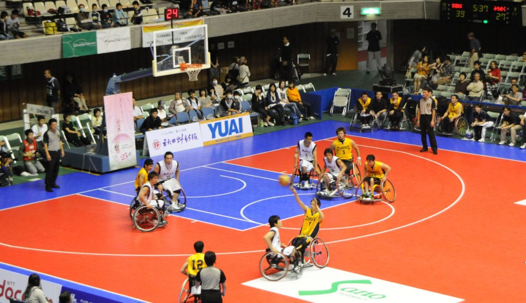 Un open day di sport per i portatori di handicap
