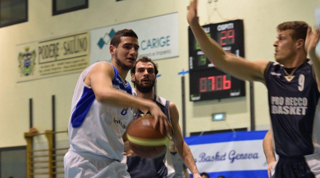 La Pro Recco Basket sta tornando grande protagonista