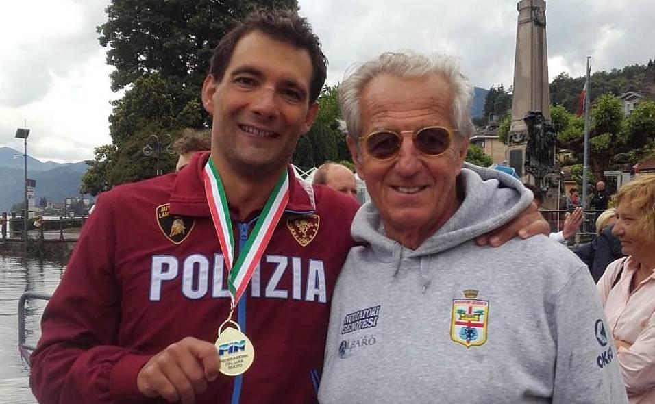 Edoardo Stochino, il coraggio di un nuotatore di fondo