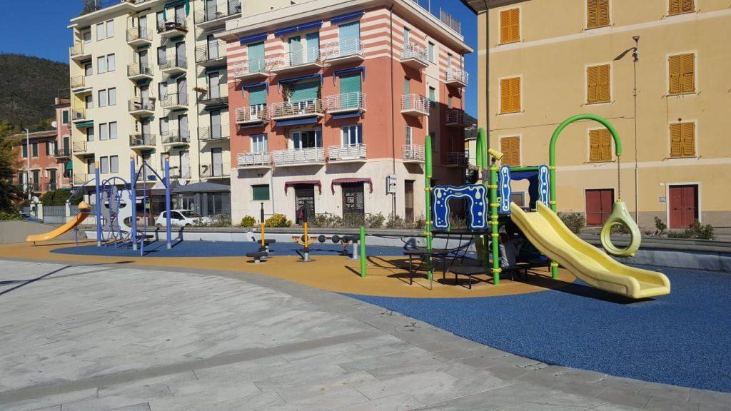Sestri: l'area giochi di Sant'Anna intitolata ai diritti dell'infanzia