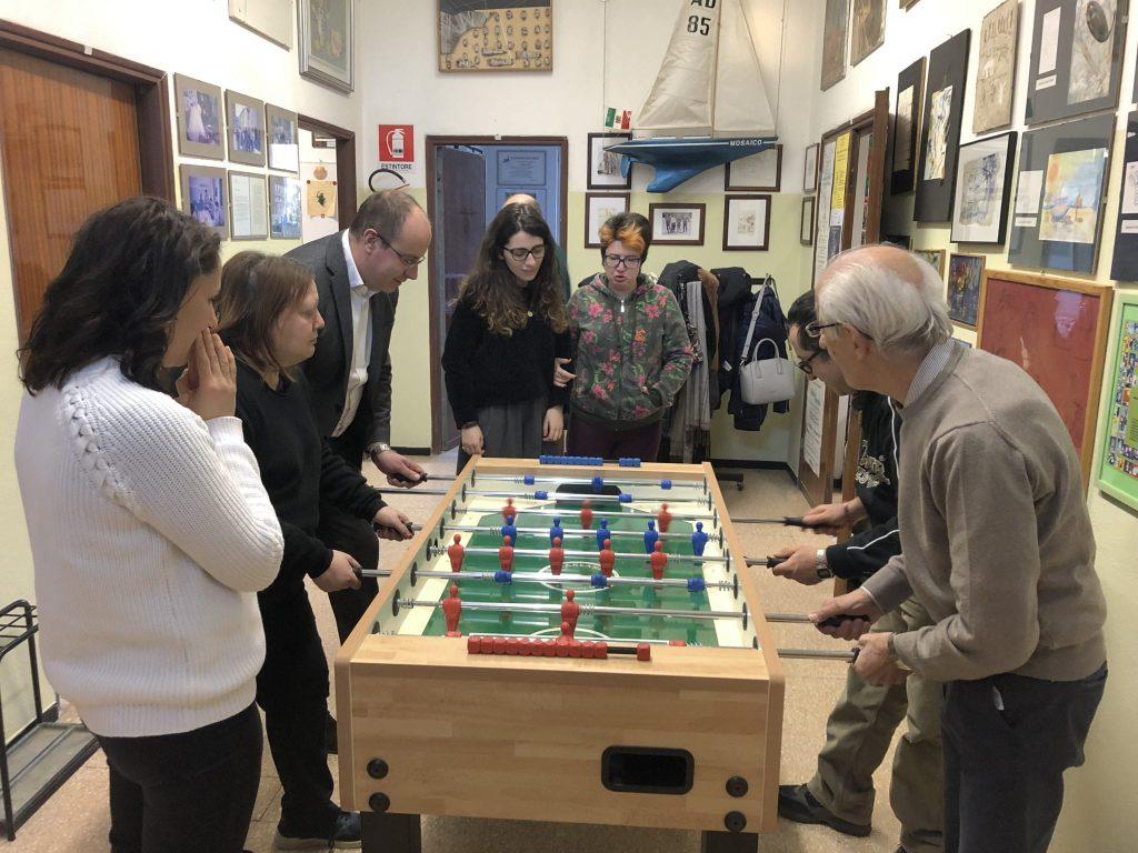 Chiavari: il sindaco Di Capua fa visita all'associazione Mosaico
