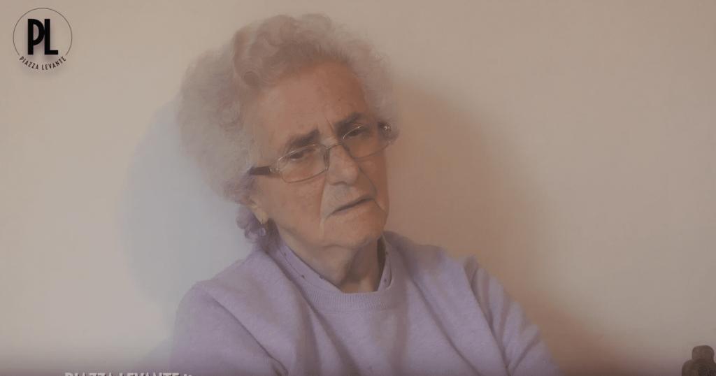 """I ricordi di Olga Bozzo, la """"partigiana bambina"""" di Sori"""