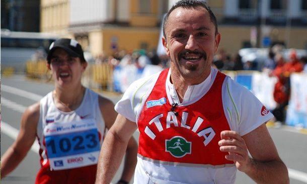 Il runner Giordano a Wylab e alla Mezza Maratona di Chiavari