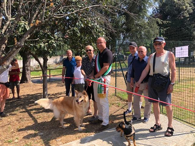 Chiavari, nuova area per cani a Sampierdicanne