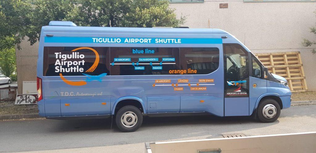 La navetta Tigullio-Aeroporto: un asso calato per l'incoming turistico