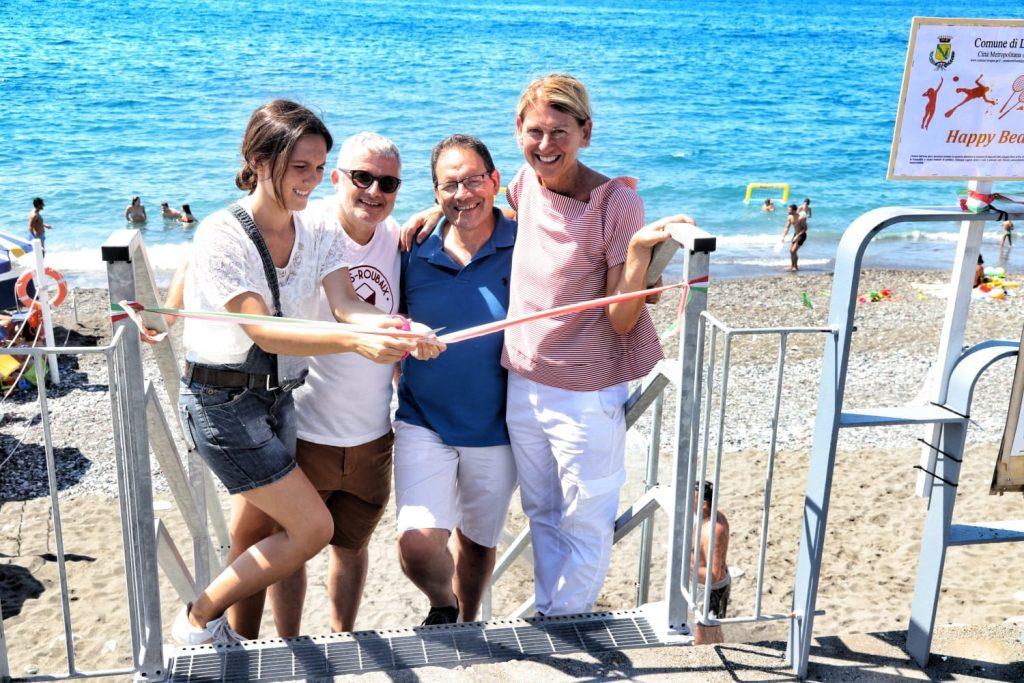 Lavagna, inaugurata la Happy Beach con tanti giochi per tutti