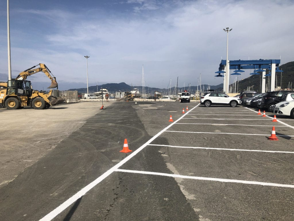 Chiavari, 86 nuovi parcheggi nell'area di Colmata