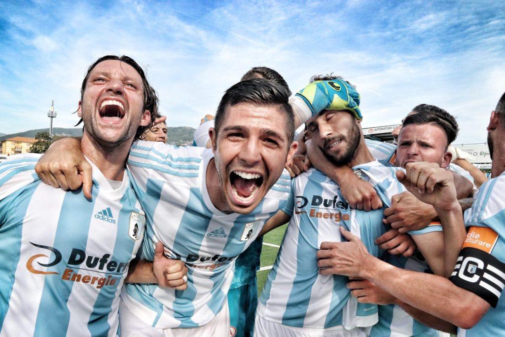 L'Entella porta in alto la bandiera del calcio ligure